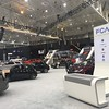 Fiat Chrysler Automobiles display area.