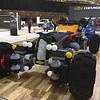 Lego Batmobile, front view. Cleveland Auto Show