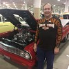 Dave Zuber of Independence and his 1965 Chevy El Camino, classic Car Competition, 2017 Cleveland Auto Show.