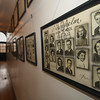 Eric Bonzar—The Morning Journal<br /> The main hallway of the former Brownhelm school is lined with pictures of graduating classes from throughout the school's history.