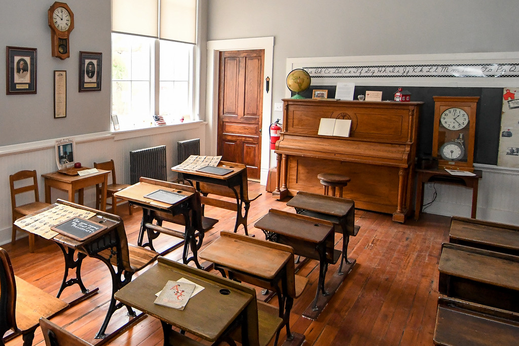 . Eric Bonzar�The Morning Journal The former Brownhelm School, 1940 N. Ridge Road, which closed its doors in 1988,  now serves as the Historic Brownhelm School and Museum.