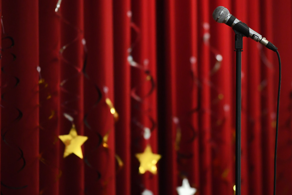 . Eric Bonzar�The Morning Journal Murray Ridge School students perform for friends, family and faculty during the school\'s fifth annual talent show, March 29, 2017.
