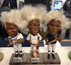 Jobu bobblheads, Classic Park ticket office, March 18.