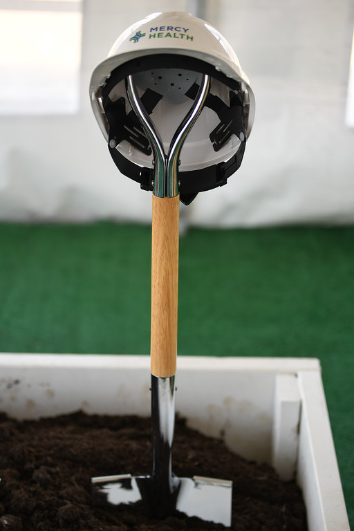 . Eric Bonzar�The Morning Journal<br> Mercy Health broke ground on its new Oak Point Medical Center, April 12, 2018.