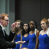 Eric Bonzar—The Morning Journal<br /> Under the direction of Choral Director Justin Caithaml, Midview High School's Midview Express and Senior Choir perform for guests during the fourth annual Lorain County Superintendent Summit, held at the Lorain County Community College John A. Spitzer Conference Center, May 4, 2017.
