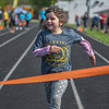 Eric Bonzar—The Morning Journal<br /> Kindergartner Ella Stottlemire, representing the Sheffield/Sheffield Lake School District, competes in a relay race during the 36th annual Lorain County Special Olympics, May 13, 2016.