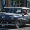 Eric Bonzar—The Morning Journal<br /> Classic cars made their way through downtown Vermilion during the 11th annual 3rd Thursday: Music Flowers and a Sunset event.
