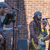 "Eric Bonzar—The Morning Journal<br /> ""A Difference"" performs on the outdoor patio of Woodstock Café, during Vermilion's 11th annual 3rd Thursday: Music Flowers and a Sunset event, May 19, 2016."