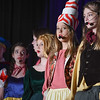 "Eric Bonzar—The Morning Journal<br /> South Amherst Middle School students held a matinee performance of ""Princess Whatsername,"" in the school's small gym, March 28, 2017."