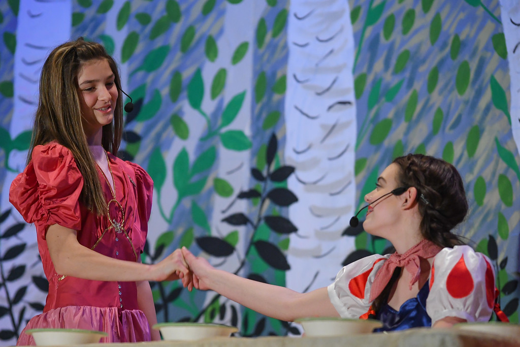". Eric Bonzar�The Morning Journal South Amherst Middle School students held an afternoon performance of ""Princess Whatsername,\"" in the school\'s small gym, March 28, 2017."