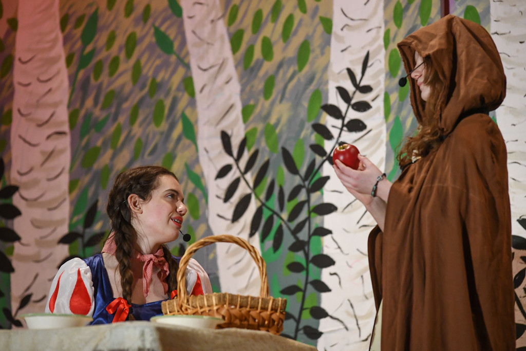 """. Eric Bonzar�The Morning Journal South Amherst Middle School students held an afternoon performance of \""""Princess Whatsername,\"""" in the school\'s small gym, March 28, 2017."""