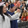 Eric Bonzar—The Morning Journal<br /> Lorain High School held its commencement ceremony for the graduating class of 2017 on June 6.