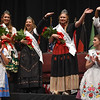 Eric Bonzar—The Morning Journal<br /> The Lorain International Queen and her court were crowned during the 50th annual Princess Pageant held at the Lorain Palace Theater, June 23, 2016. The court, from left to right, are: third runner-up Ally Kelling, 17, representing the Hungarian nationality; second runner-up Erica Dovin, 17, representing the Italian nationality; Queen Chloe Mieras, 18, representing the Dutch nationality; and first runner-up Carys Gwynn Trubach, 17, representing the Serbian nationality.