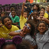 Eric Bonzar—The Morning Journal<br /> The kids of the Oakwood Boys and Girls Club of Lorain County anticipate the start of the facility's dedication ceremony, July 12, 2016.