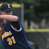 Eric Bonzar—The Morning Journal<br /> Saint Ignatius' Sean Wracher (31) takes the mound for the team's game against the Amherst Comets, July 28, 2017.