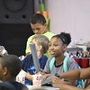 """Eric Bonzar—The Morning Journal<br /> Children make their own rockets during PACE Foundations' """"Summer of Innovation"""" summer camp, Aug. 31, 2017. Rocketry was the theme of the week, Michael Ferrer, vice president of youth development programs for the Lorain PACE Foundation, said."""