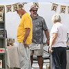 Eric Bonzar—The Morning Journal<br /> Some 60 vendors were on hand for Vermilion's first annual Vermilion Beach Market, at Sherod Park, Aug. 4, 2017. The event continues, from 9 a.m. to 4 p.m., Aug. 5.