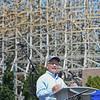 "Eric Bonzar—The Morning Journal<br /> Founder Fred Grubb's Rocky Mountain Construction will head the build of Cedar Point's new hyper-hybrid coaster ""Steel Vengeance."""