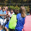"Eric Bonzar—The Morning Journal<br /> Students participate in a round of tug-o'-war, during the United Way of Greater Lorain County's ""United We Sweat Field Day"" event held at the high school's Ross Field, Sept. 13, 2016."