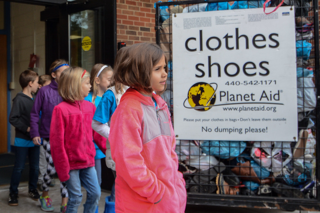 . Eric Bonzar�The Morning Journal For Eastview Elementary School\'s final  Walk on Wednesdays (WOW) of 2016, the Avon Lake students collected old shoes as donation to Planet Aid, a non-profit organization that re-purposes used and recycled textiles to areas in need across the globe, Principal Mike Matthews said.