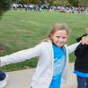 Eric Bonzar—The Morning Journal<br /> Eastview Elementary School students participate in the  Walk on Wednesdays (WOW) initiative, Oct. 26, 2016.