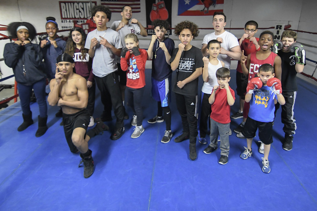 . Eric Bonzar�The Morning Journal<br> United Boxing Club, in Lorain, continues to play a vital role in the city. The work, continued by Owner George Mills and Trainer Freddie Osorio, helps to develop the community\'s youth into more than fighters. It strives to make them better people and give them an opportunity to become something great.