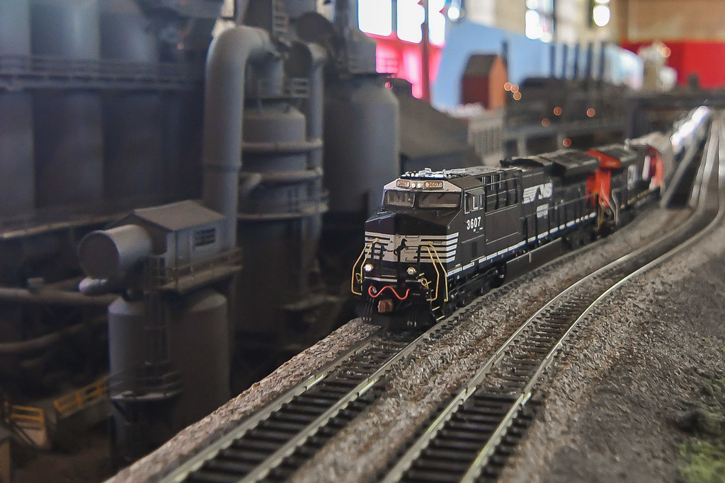. Eric Bonzar�The Morning Journal<br> There is still time to see the International Tree and Model Train Display, 421 Black River Lane, in Lorain. The event continues through Dec. 30 from 5-9 p.m., Fri. and Sat. and 3-7 p.m., Sun. The display is free to the public, and will be closed Dec. 24.