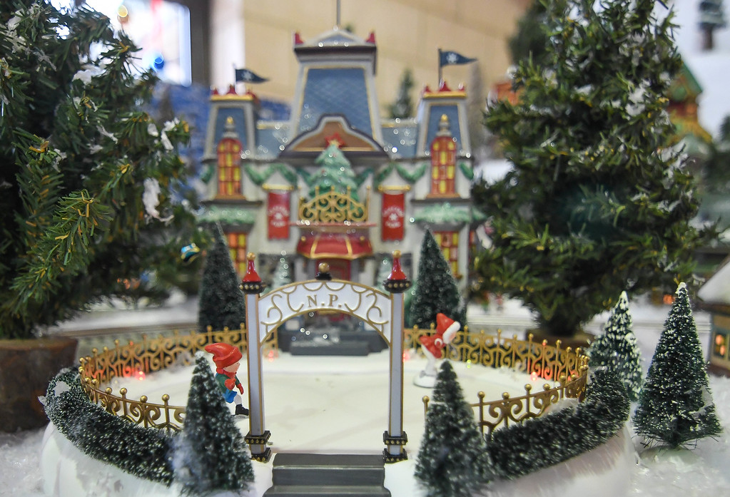 . Eric Bonzar�The Morning Journal<br> The International Tree and Model Train Display, 421 Black River Lane, in Lorain, continues through Dec. 30. Guests are encouraged to attend the Black River Landing event from 5-9 p.m., Fri. and Sat. and 3-7 p.m., Sun. The display is free to the public,  and will be closed Dec. 24.