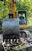 091113 House Demo excavator