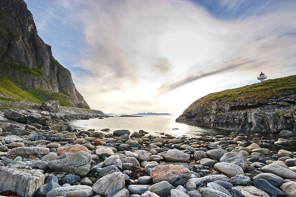 Lighthouse on island Andøya