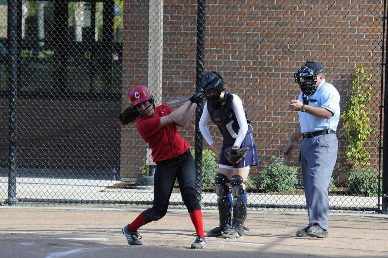 Castilleja Softball 1/ 350s, at f/8    E.Comp:0    200mm    WB: AUTO 0.    ISO: 560    Tone:     Sharp:     Camera: NIKON D300on: 2009:03:20 16:18:45