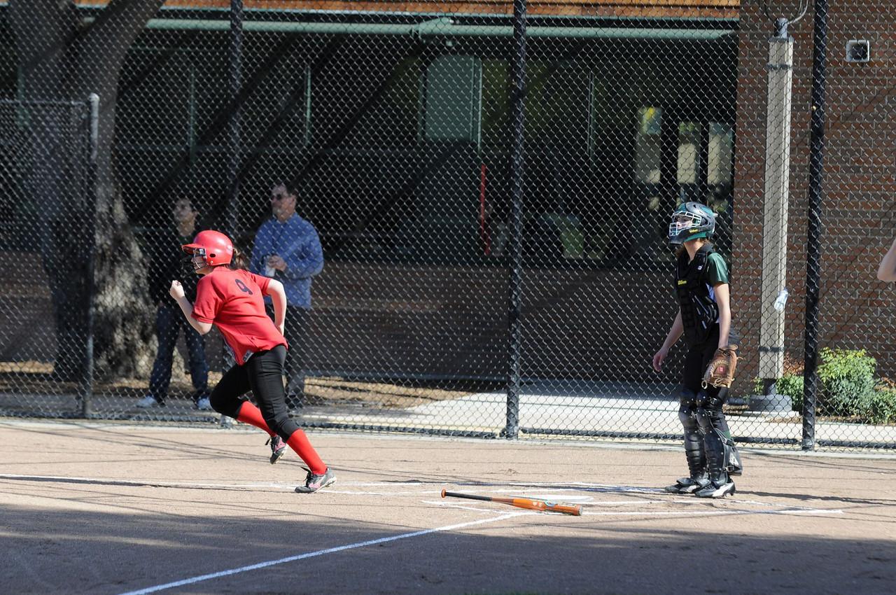 Castilleja Softball 1/ 1500s, at f/4    E.Comp:0    125mm    WB: AUTO 0.    ISO: 400    Tone:     Sharp:     Camera: NIKON D300on: 2009:03:24 15:38:52
