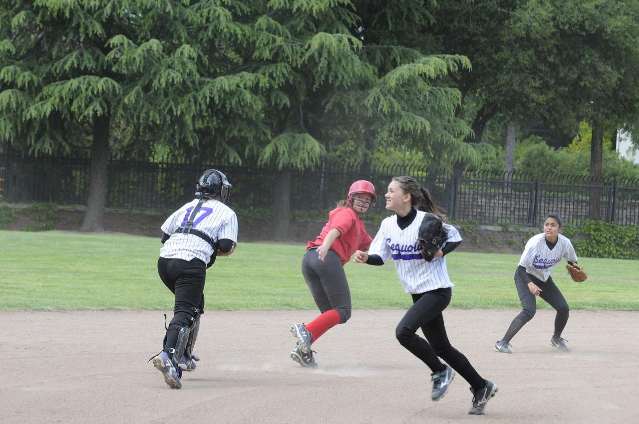 Castilleja Softball vs Sequoia