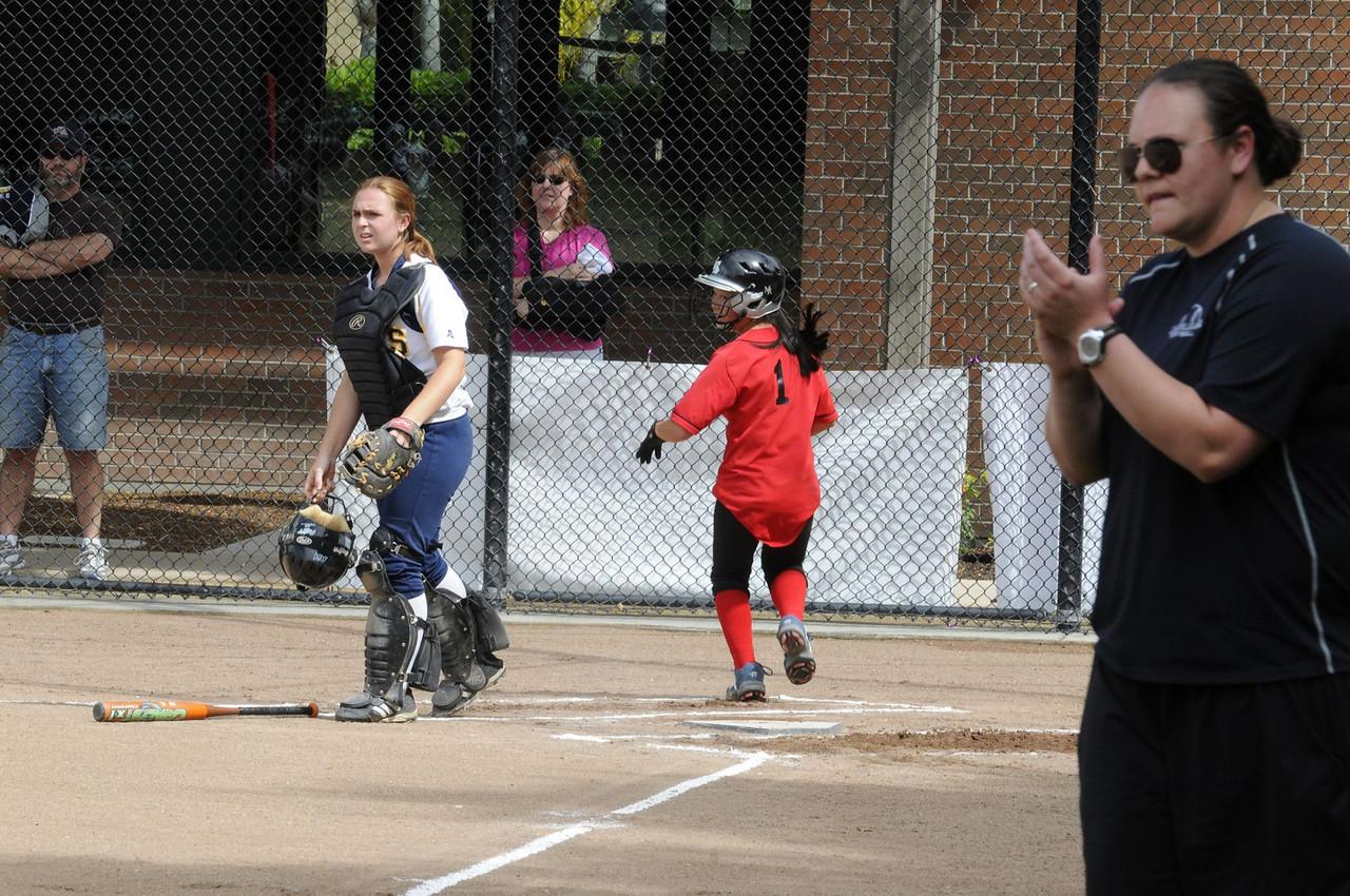 Castilleja Softball vs King's Academy