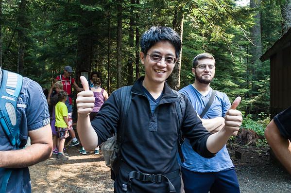 Team Hike - Keekwulee falls