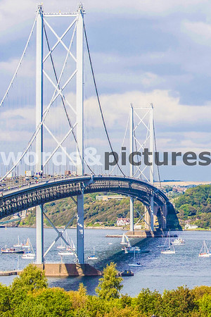 Noon SOUTH QUEENSFERRY, Flotilla on the Forth.