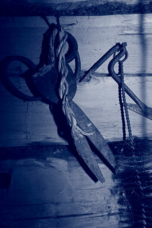 Gammal sax i en fäbod - Old scissors