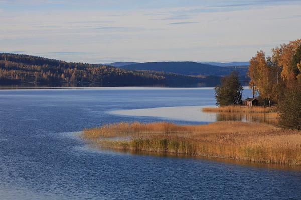 Bay of the Baltic sea in autumn - Norafjärden på hösten