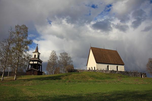 Country church - Överlännäs kyrka