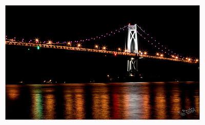 Mid Hudson Bridge from Waryas Park during the opening ceremonies of the Walkway Bridge in Poughkeepsie.