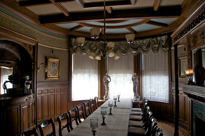 Wiedemann Hill Mansion - one of 2 dining areas