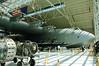 Spruce Goose dwarfs an SR-71