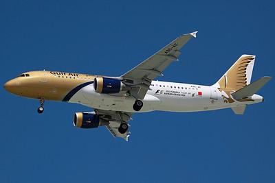A9C-AE A320-200 Gulf Air. 27/3/13.