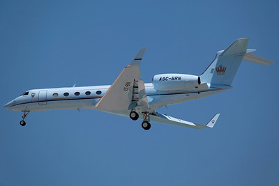 A9C-BRN Gulfstream 550 Bahrain Royal Flight. 26/3/13.
