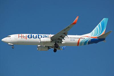 A6-FDZ B737-800 FlyDubai. 27/3/13.
