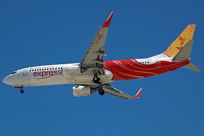 VT-AXD B737-800 Air India Express. 27/3/13.