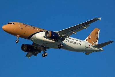 A9C-AG A320-200 Gulf Air. 27/3/13.