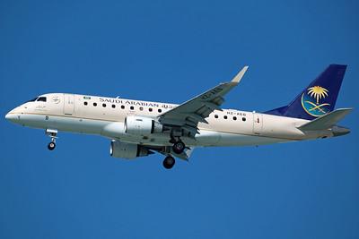 HZ-AEB ERJ-170-100LR Saudi Arabian Airlines. 27/3/13.