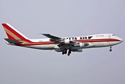 N714CK B747-200F Kalitta Air. 16/2/07.