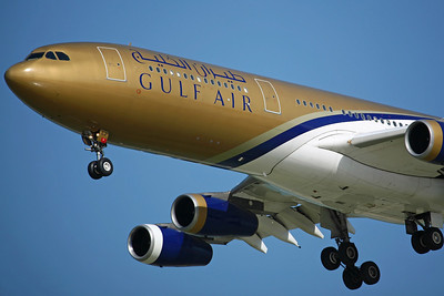 A9C-LJ A340-300 Gulf Air.14/2/08.